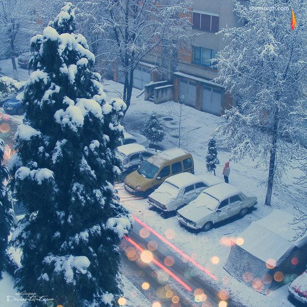 عکس برف