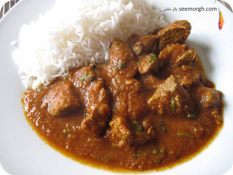 indian foods- rogan josh