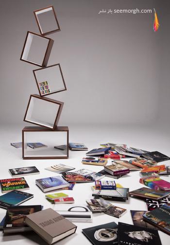 مدلهای قفسه های زیبای معلق در فضا www.TAFRIHI.com