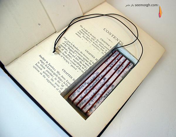 50 украшений вырезанных из книг