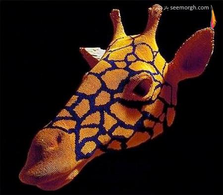 هنرمندی که با چوب کبریت مجسمههای سه بعدی خلق میکند!! (+عکس) www.TAFRIHI.com