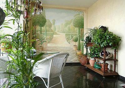 سبکی رویایی در نقاشی دیوارها ! www.TAFRIHI.com