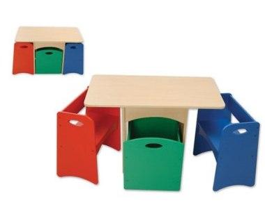 میزهای تحریر دونفره فانتزی برای کودکان www.TAFRIHI.com