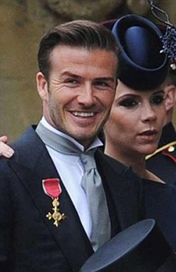 گاف بکام در مراسم عروسی سلطنتی! + عکس www.TAFRIHI.com