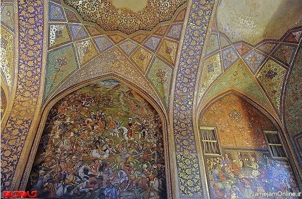گزارش تصویری کاخ چهل ستون در اصفهان www.TAFRIHI.com