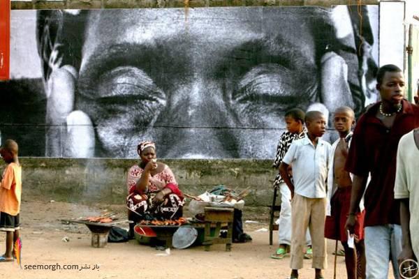 گالری هنری حیرتانگیزی در خیابان! (+عکس) www.TAFRIHI.com