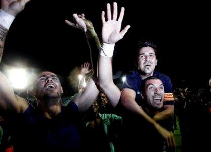 جشن قهرمانی بارسا؛ گزارش تصویری www.TAFRIHI.com