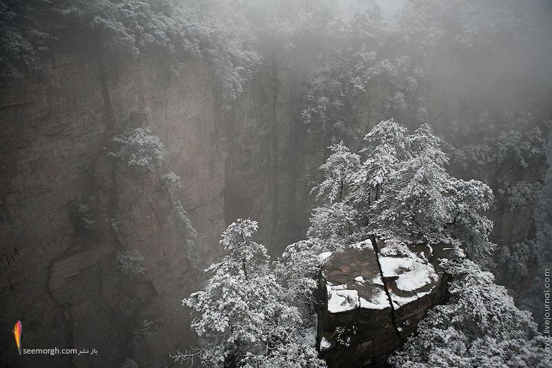 محلی جالب در چین شبیه «جزیرههای پرنده» فیلم آواتار! (+تصویر) www.TAFRIHI.com