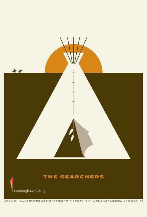پوسترهای خلاقانه یک هنرمند برای فیلمهای تگزاسی! (تصویری) www.TAFRIHI.com
