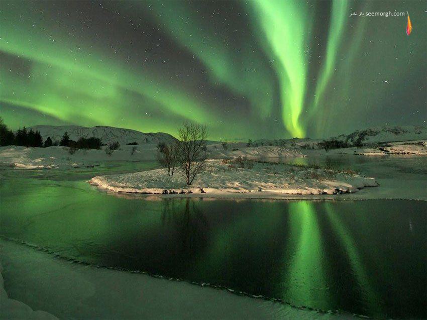 نورهای شمالی، ایسلند