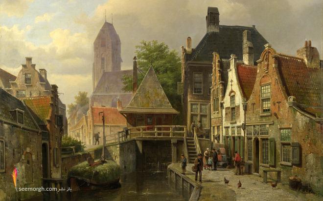 گزارش تصویری: نقاشیهای باشکوه گالری ملی لندن www.TAFRIHI.com