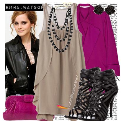 ست کردن لباس به سبک اما واتسون Ema Watson