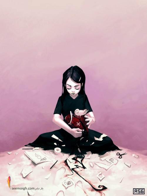 22 نقاشی سورئال خلاقانه و عجیب!! www.TAFRIHI.com