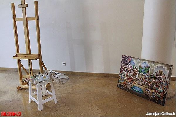 نقاشی قهوه خانه