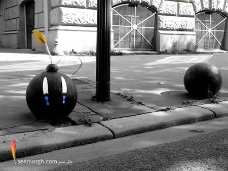12 نمونه هنرنمایی جالب در گوشه و کنار خیابان!! (تصویری) www.TAFRIHI.com