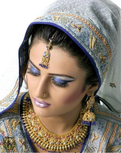 عکس   مدل آرایش هندی و پاکستانی