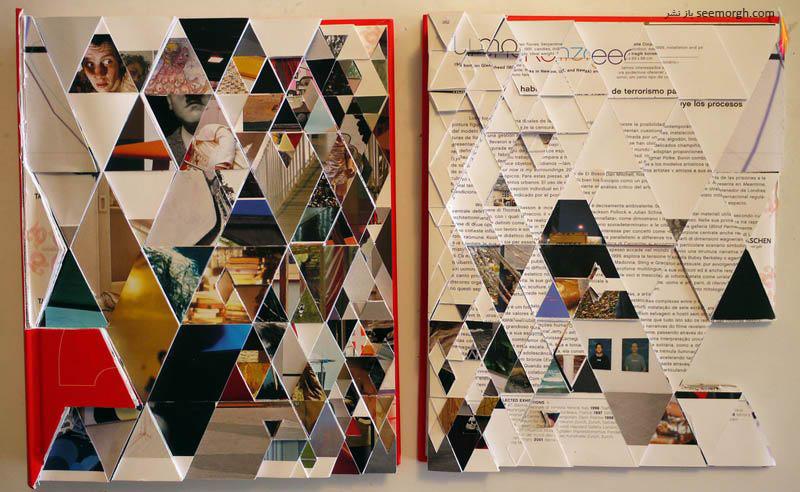 هنرمندی که با اعوجاج و دفرمگی زیبایی خلق میکند (+عکس) www.TAFRIHI.com سایت تفریحی