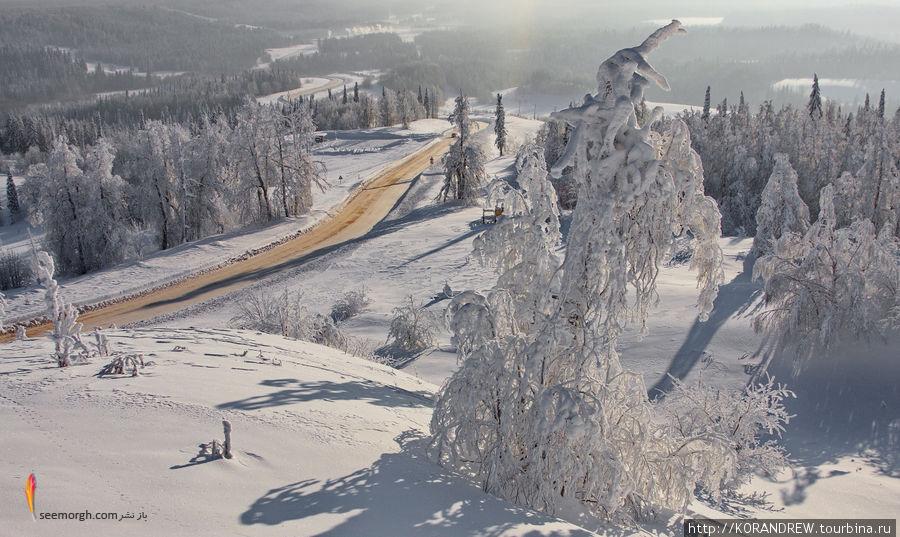 روسیه سرد و زیبا بیشباهت به داستانهای افسانهای نیست! (تصاویر) www.TAFRIHI.com
