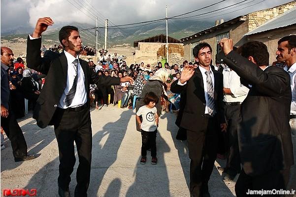 گزارش تصویری: جشن عروسی محلی در مازندران www.TAFRIHI.com