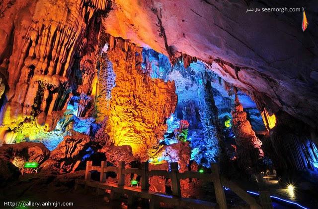 غاری شگفت انگیز در چین!! (تصویری) www.TAFRIHI.com