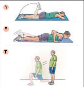 حرکاتی برای تقویت عضلات پشت ران