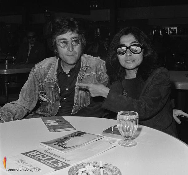 جان لنون و یوکو اونو
