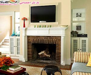 1 اتاق نشیمن با 4 رنگامیزی مختلف چقدر تغییر میکند؟ www.TAFRIHI.com
