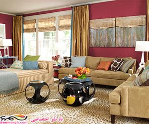 رنگامیزی اتاق نشیمن