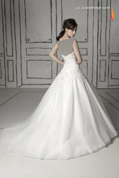 مدلهای لباس عروس بسیار زیبا از جاستین الکساندر طراح معروف - مدل شماره 1