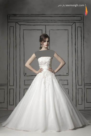 مدلهای لباس عروس بسیار زیبا از جاستین الکساندر طراح معروف - مدل شماره 19