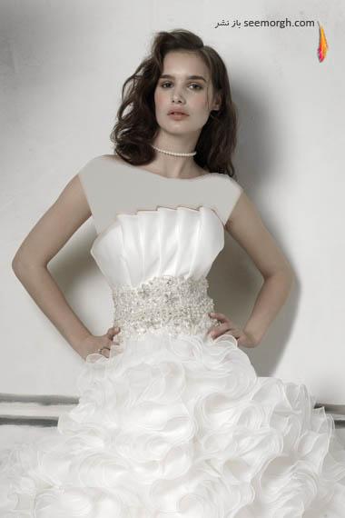 مدلهای لباس عروس بسیار زیبا از جاستین الکساندر طراح معروف - مدل شماره 20