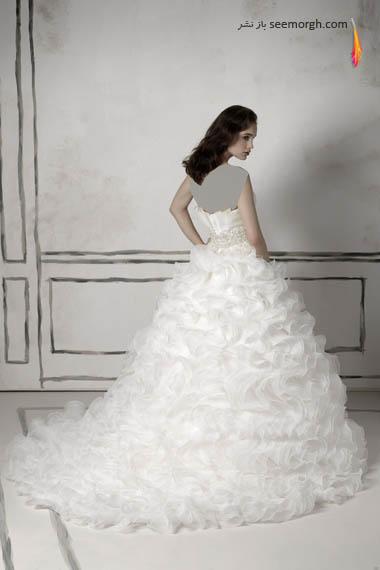 مدلهای لباس عروس بسیار زیبا از جاستین الکساندر طراح معروف - مدل شماره 21