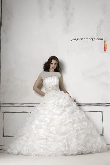 مدلهای لباس عروس بسیار زیبا از جاستین الکساندر طراح معروف - مدل شماره 22