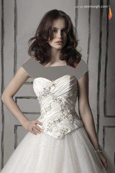 مدلهای لباس عروس بسیار زیبا از جاستین الکساندر طراح معروف - مدل شماره 23