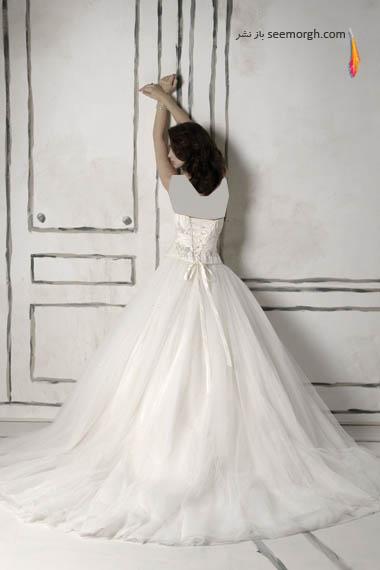 مدلهای لباس عروس بسیار زیبا از جاستین الکساندر طراح معروف - مدل شماره