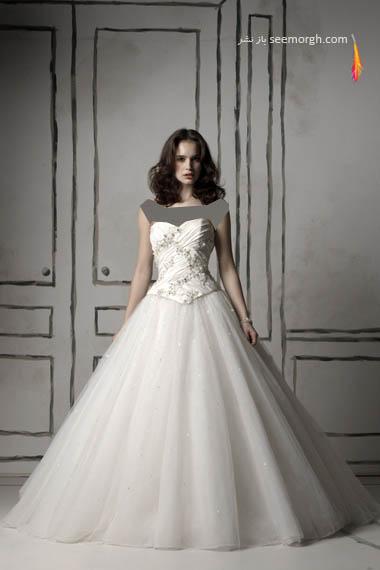 مدلهای لباس عروس بسیار زیبا از جاستین الکساندر طراح معروف - مدل شماره 3