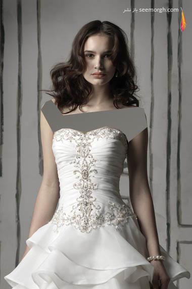 مدلهای لباس عروس بسیار زیبا از جاستین الکساندر طراح معروف - مدل شماره 4