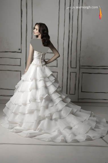 مدلهای لباس عروس بسیار زیبا از جاستین الکساندر طراح معروف - مدل شماره 5