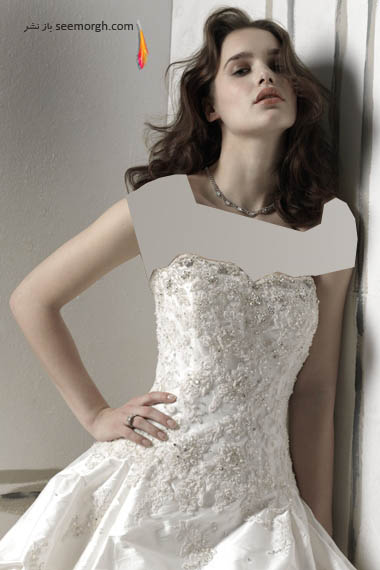 مدلهای لباس عروس بسیار زیبا از جاستین الکساندر طراح معروف - مدل شماره 7