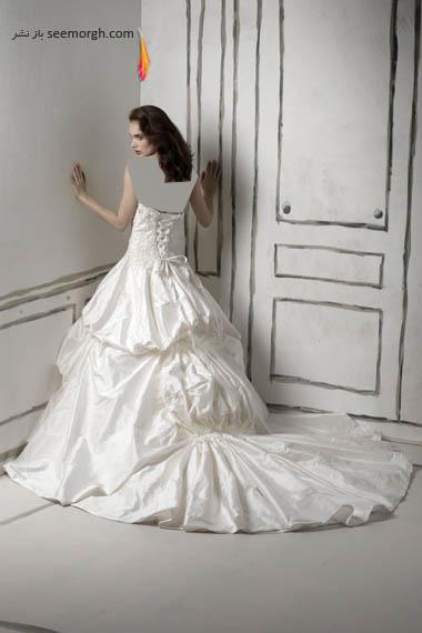 مدلهای لباس عروس بسیار زیبا از جاستین الکساندر طراح معروف - مدل شماره 8