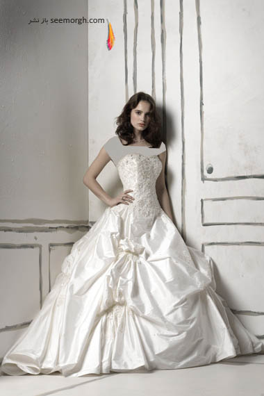 مدلهای لباس عروس بسیار زیبا از جاستین الکساندر طراح معروف - مدل شماره 9