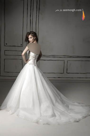 مدلهای لباس عروس بسیار زیبا از جاستین الکساندر طراح معروف - مدل شماره 11