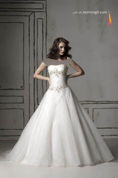 مدلهای لباس عروس بسیار زیبا از جاستین الکساندر طراح معروف - مدل شماره 12