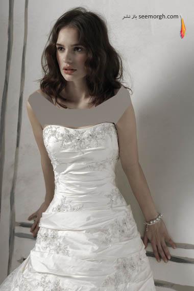 مدلهای لباس عروس بسیار زیبا از جاستین الکساندر طراح معروف - مدل شماره 13