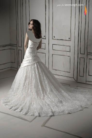 مدلهای لباس عروس بسیار زیبا از جاستین الکساندر طراح معروف - مدل شماره 14