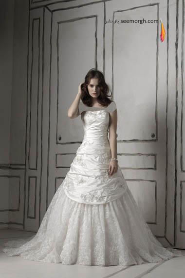 مدلهای لباس عروس بسیار زیبا از جاستین الکساندر طراح معروف - مدل شماره 15