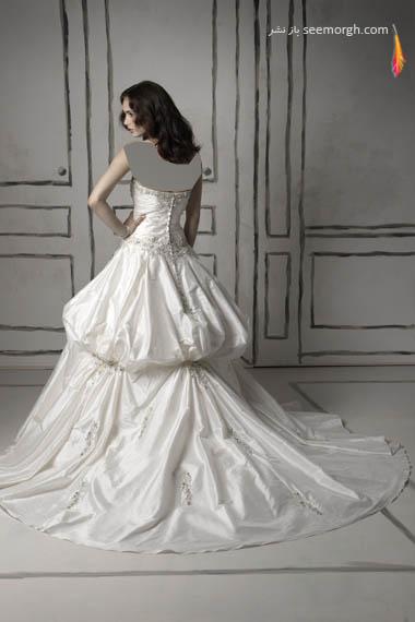 مدلهای لباس عروس بسیار زیبا از جاستین الکساندر طراح معروف - مدل شماره 17