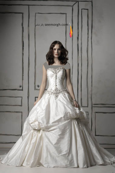 مدلهای لباس عروس بسیار زیبا از جاستین الکساندر طراح معروف - مدل شماره 18
