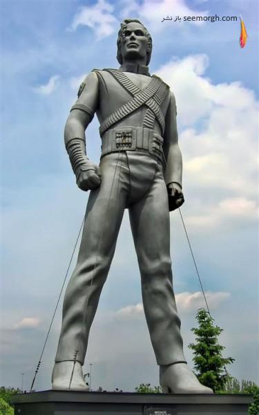 مجسمه مایکل جکسون