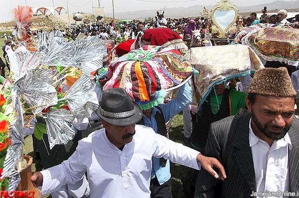 گزارش تصویری از مراسم ازدواج عشایر کرمان www.TAFRIHI.com